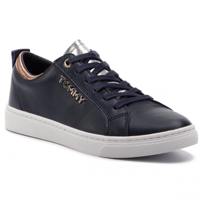 Sneakersy TOMMY HILFIGER - City Sneaker FW0FW03776 Midnight 403