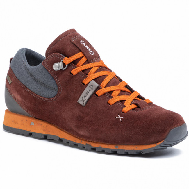 Trekingová obuv AKU - Bellamont Gaia Gt W GORE-TEX 516 Wine Red/Orange 196