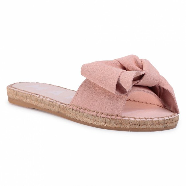 Espadrilky MANEBI - Sandals With Bow W 1.4 J0 Pastel Rose