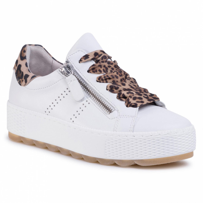 Sneakersy GABOR - 46.538.51 Weiss/Natur