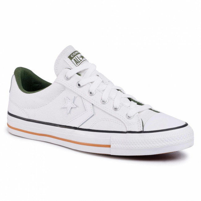 Tramky CONVERSE - Star Player Ox 167671C White/White/Cypress Green