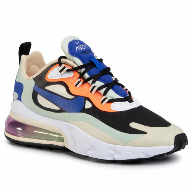 Topánky NIKE - Nike Air Max 270 React CI3899 200 Fossil/Hyper Blue/Black