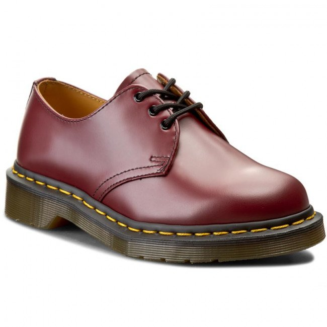Poltopánky DR. MARTENS - 1461 59 10085600 Cherry Red