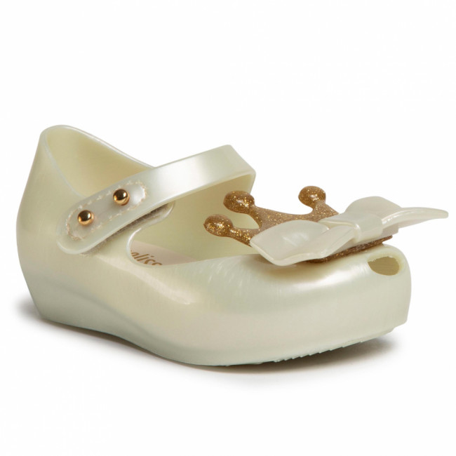 Poltopánky MELISSA - Mini Melissa Ultragirl Princes 32594 White Pearled 06587