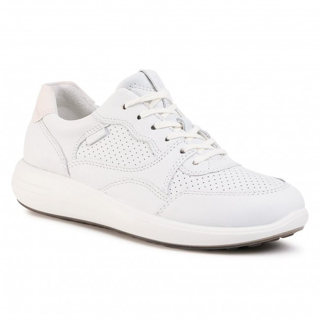 Sneakersy ECCO - Soft 7 Runner W 46061352292 White/Shadow White