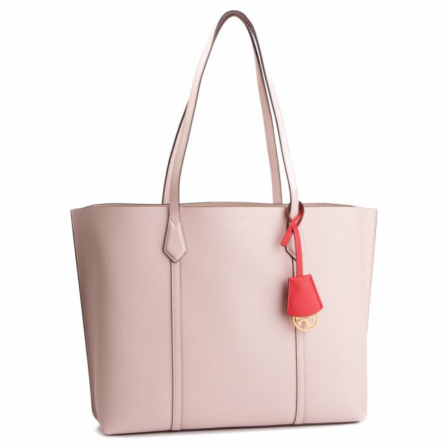 Kabelka TORY BURCH - Perry Triple-Compartment Tote 53245 Shell Pink 652