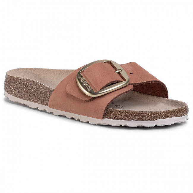 Šľapky BIRKENSTOCK - Madrid Big Buckle 1015718  Brandy