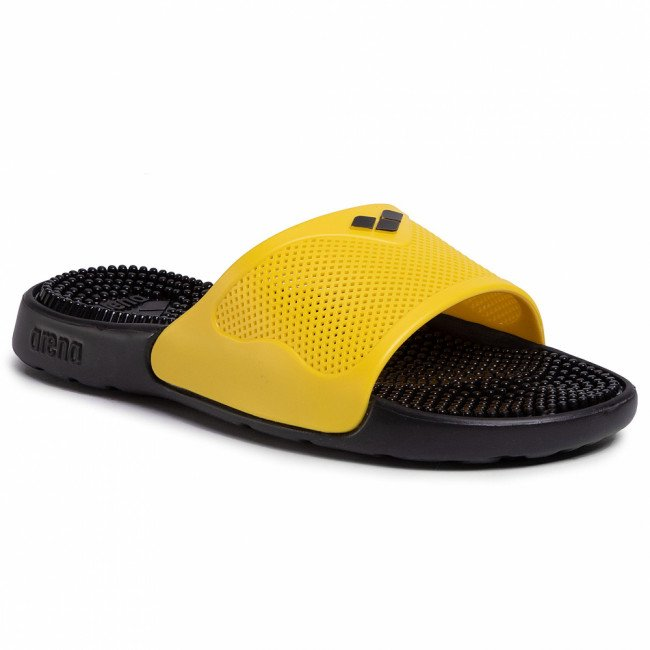 Šľapky ARENA - Marco 80635 44 Black/Yellow