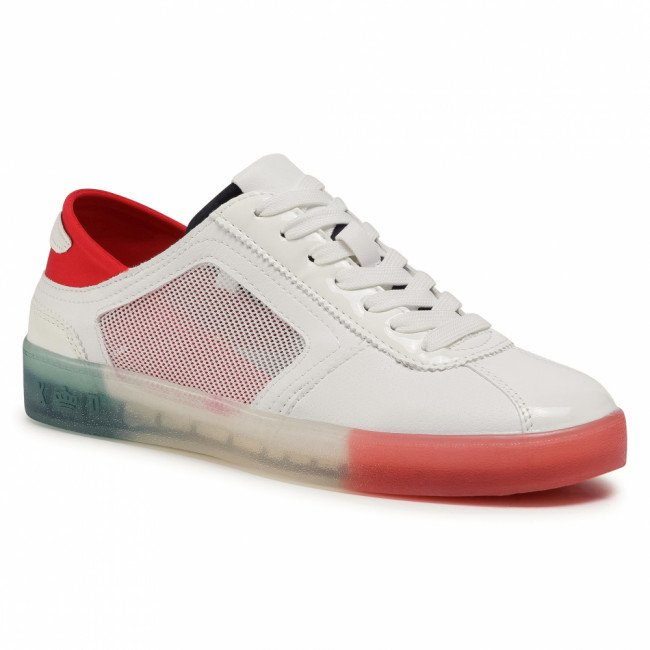 Sneakersy KEDDO - 807132/02-01E White/Red