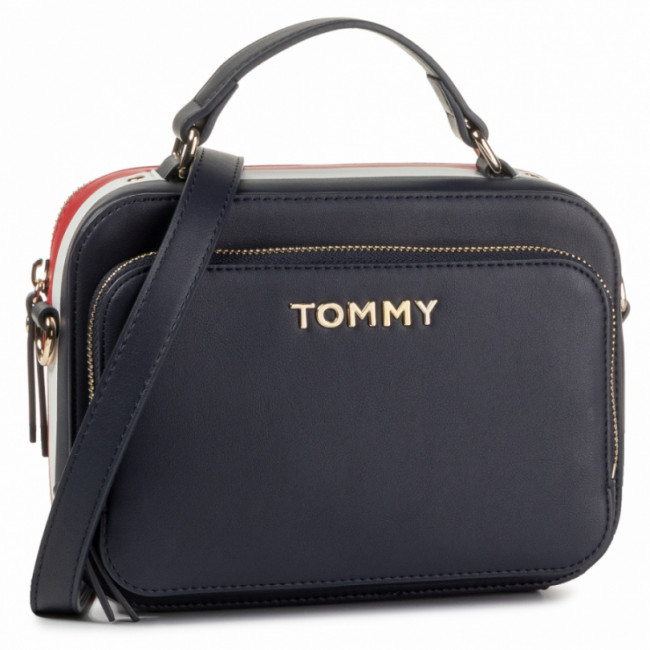 Kabelka TOMMY HILFIGER - Th Corporate Trunk AW0AW07691 0GZ