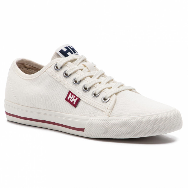 Tenisky HELLY HANSEN -  Fjord Canvas Shoe V2 114-66.011 Off White/Beet Red/Navy