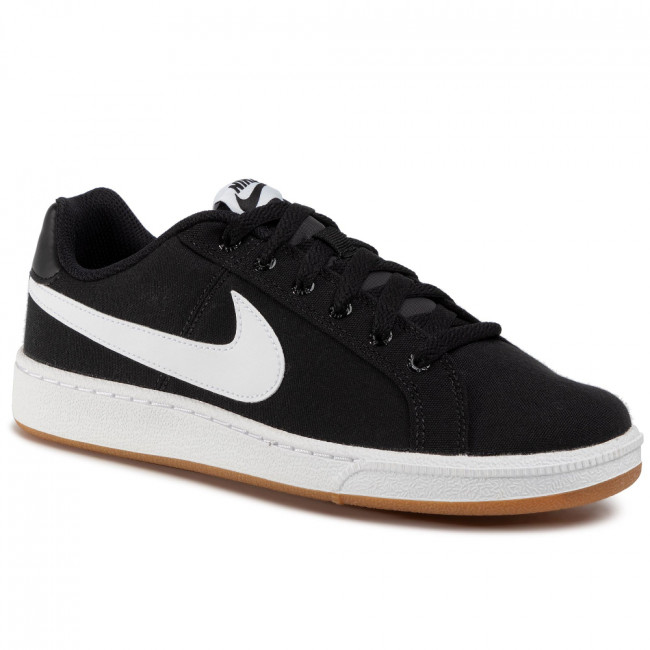 Topánky NIKE - Court Royale Canvas AA2156 005 Black/White/Gum Light Brown
