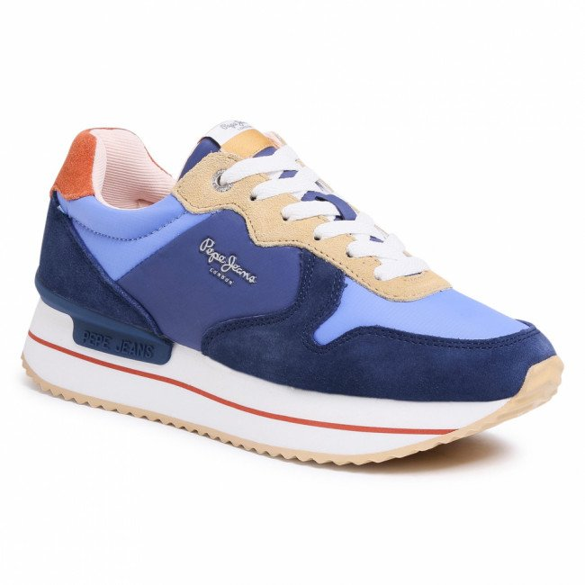 Sneakersy PEPE JEANS - Rusper Young PLS30991 Sailor 580