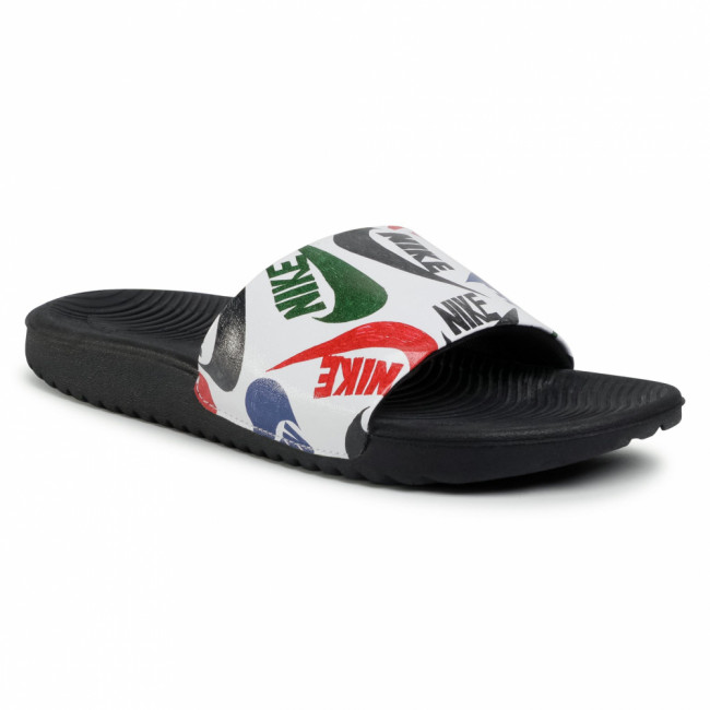 Šľapky NIKE - Kawa Slide Se Jdi (Gs/Ps) CT6619 010 Black/White