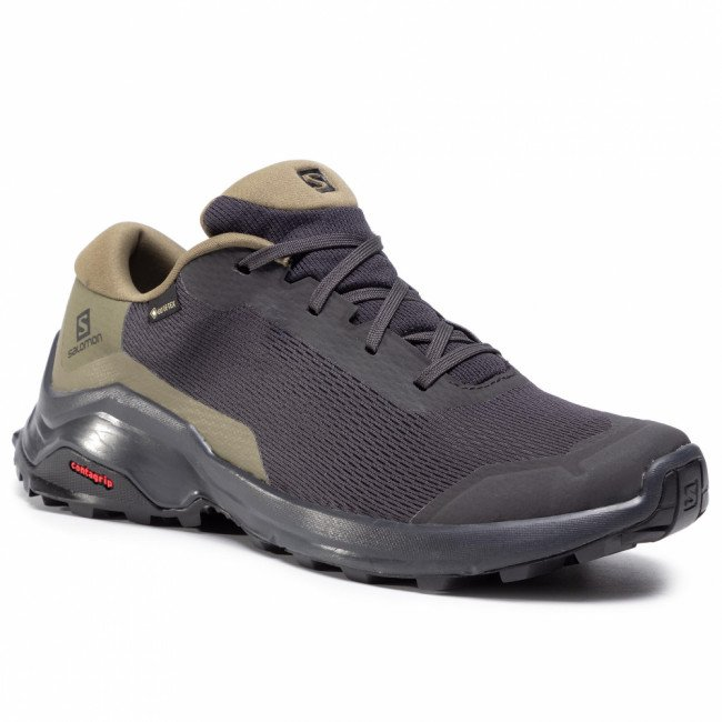 Topánky SALOMON - X Reveal Gtx GORE-TEX 410421 27 M0 Phantom/Burnt Olive/Black