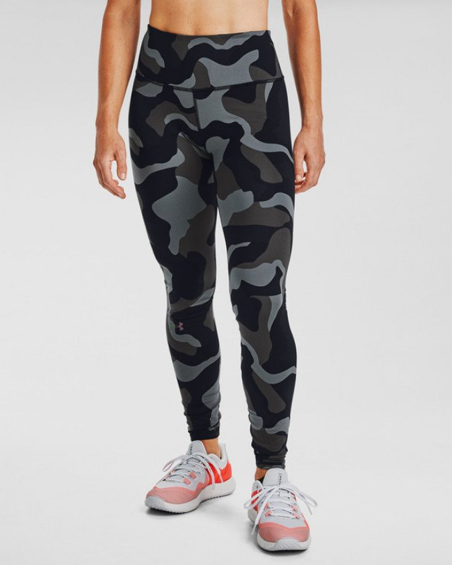 Under Armour Rush Camo Legínsy Čierna