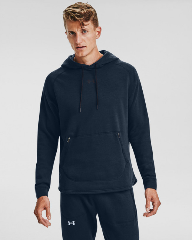 Under Armour Charged Cotton® Fleece Mikina Modrá