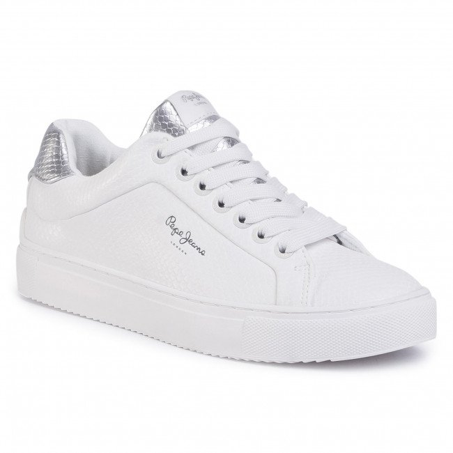Sneakersy PEPE JEANS - Adams Lamu PLS30959 White 800