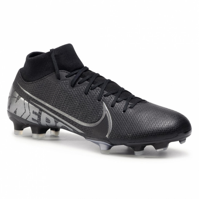 Topánky NIKE - Superfly 7 Academy Fg/Mg AT7946 001 Black/Mtlc Cool Grey/Cool Grey