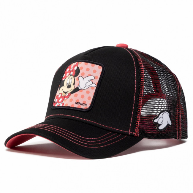 Šiltovka CAPSLAB - Disney Minnie Mouse CL/DIS/2/MIN2 Black