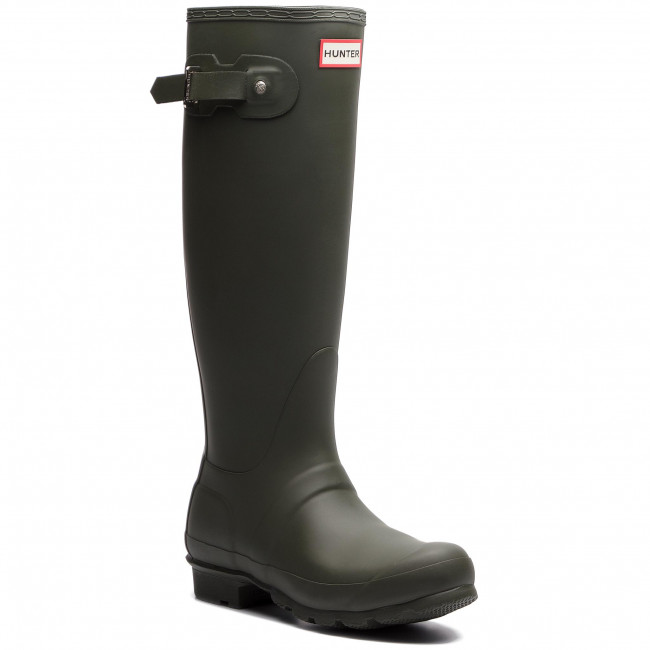 Gumáky HUNTER - Original Tall WFT1000RMA Dark Olive