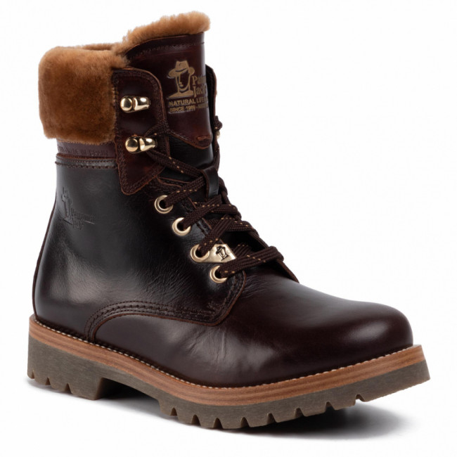 Outdoorová obuv PANAMA JACK - Panama 03 Igloo Brooklyn B2  Pull-Up Marron/Brown