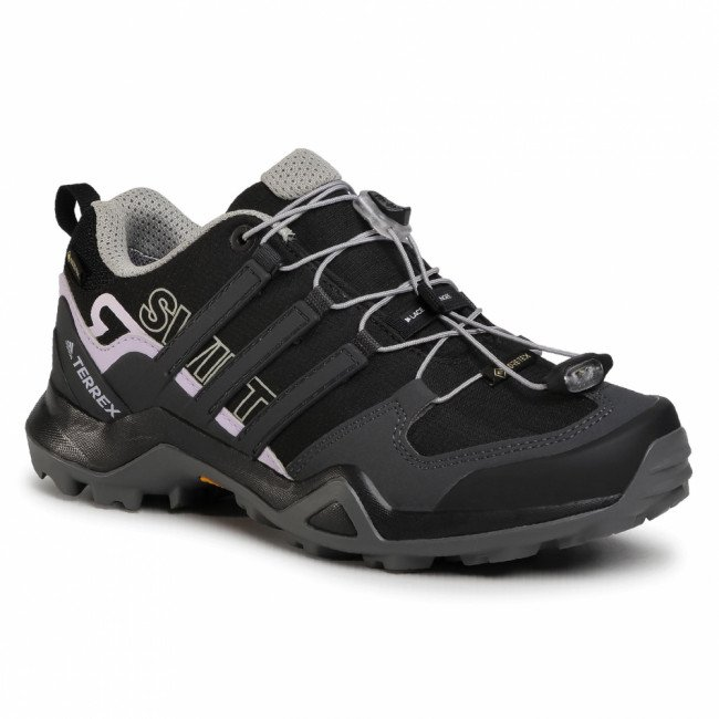 Topánky adidas - Terrex Swift R2 Gtx W GORE-TEX EF3363 Core Black/Dgh Solid Grey/Purple Tint