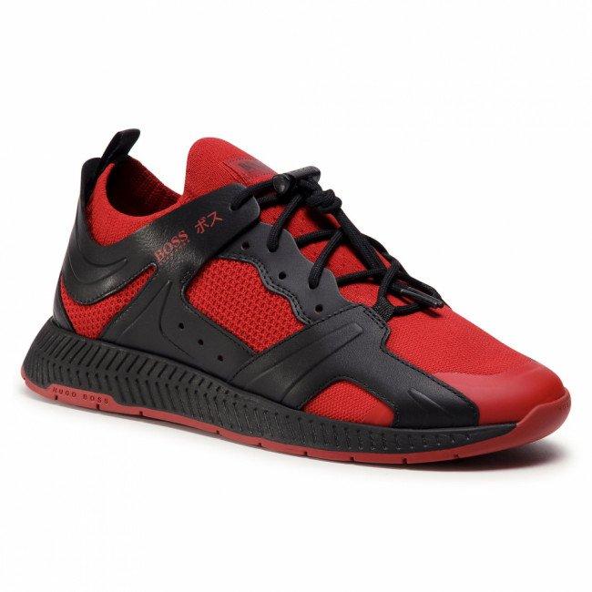 Sneakersy BOSS - Titanium 50432784 10227343 01 Open Red 640