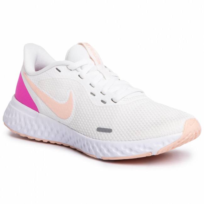 Topánky NIKE - Revolution 5 BQ3207 103 Summit White/Washed Coral