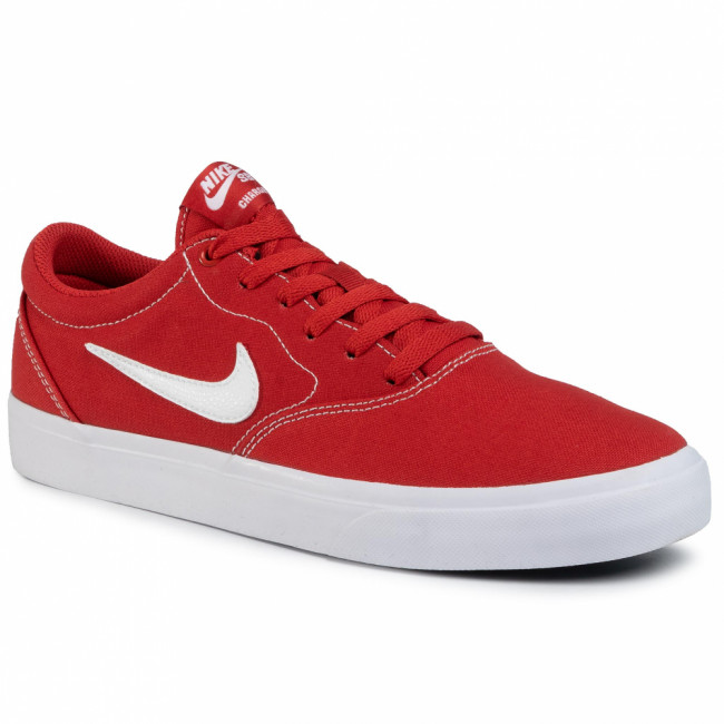 Topánky NIKE - Sb Charge Cnvs CD6279 601 Mystic Red/White/Mystic Red
