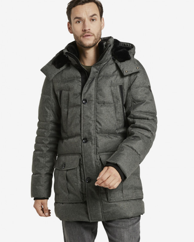 Tom Tailor Parka Šedá