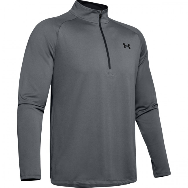 Tričko Under Armour Tech 2.0 1/2 Zip-GRY