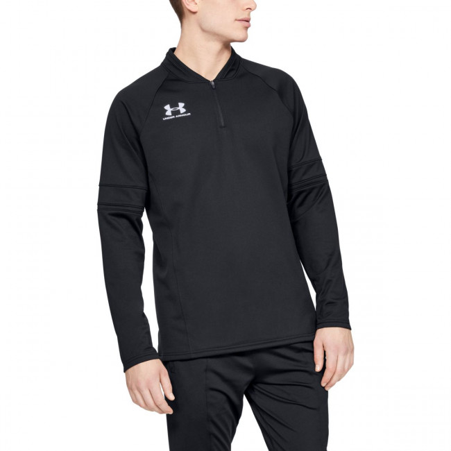 Tričko Under Armour Challenger Iii Midlayer-Blk