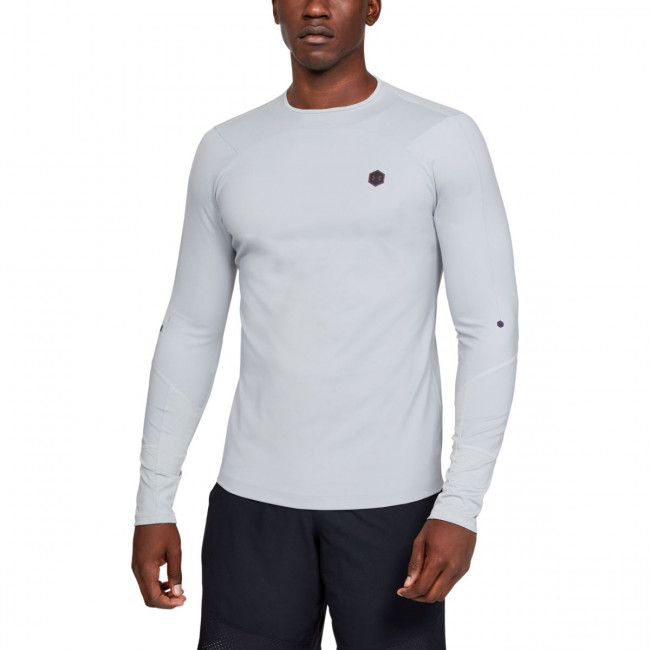 Tričko Under Armour Cg Rush Mock-Gry