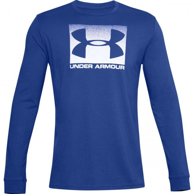 Tričko Under Armour UA BOXED SPORTSTYLE LS-BLU