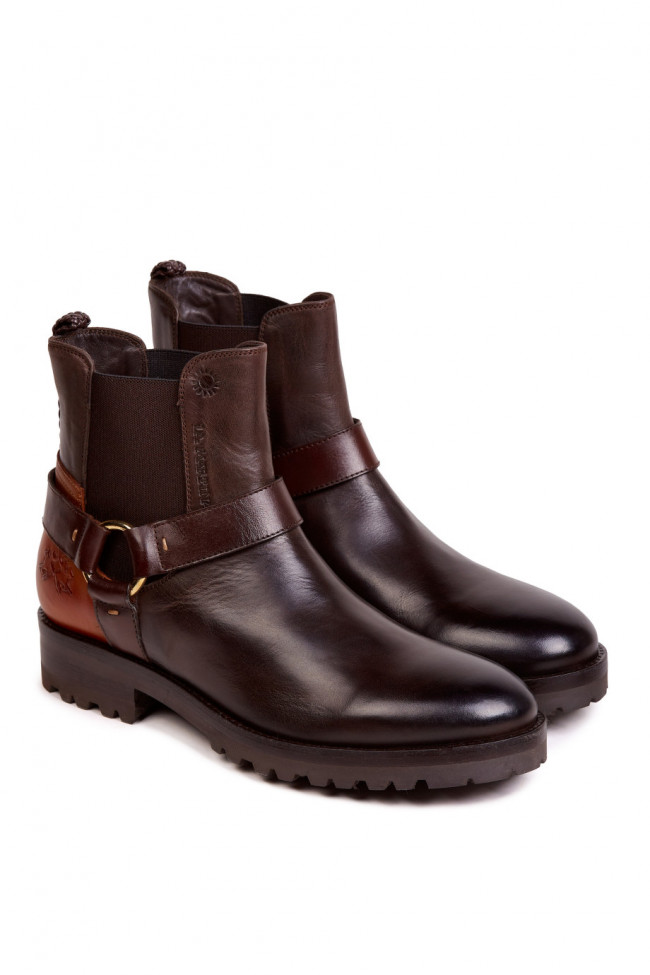 Členková Obuv La Martina Woman Boots Ohio Calf Leather