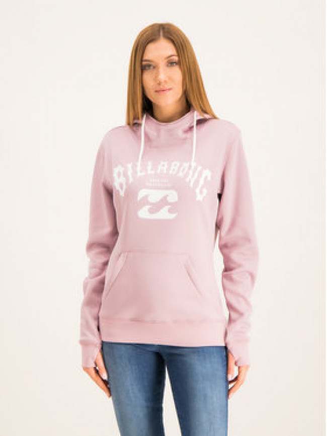 Billabong Mikina Fever Q6SF01 BIF9 Ružová Regular Fit