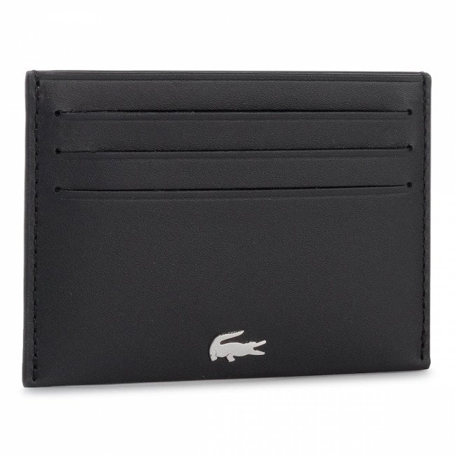 Púzdro na kreditné karty LACOSTE - Credit Card Holder NH1346FG Black 000