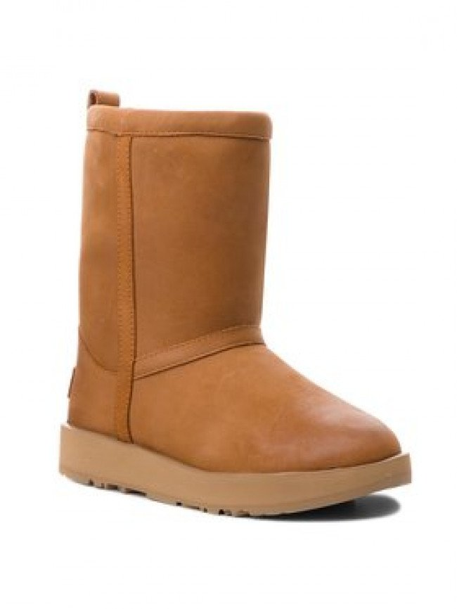 Ugg Topánky W Classic Short L Waterproof 1017509 Hnedá