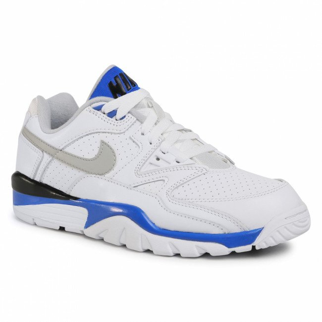 Topánky NIKE - Air Cross Trainer 3 Low CJ8172 100 White/Lt Smoke Grey/Racer Blue