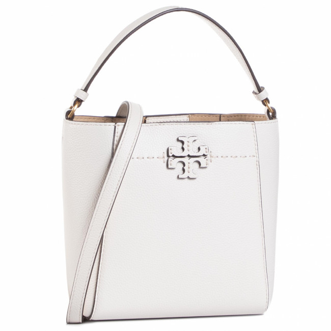 Kabelka TORY BURCH - Mcgraw Small Bucket 74956 New Ivory 104