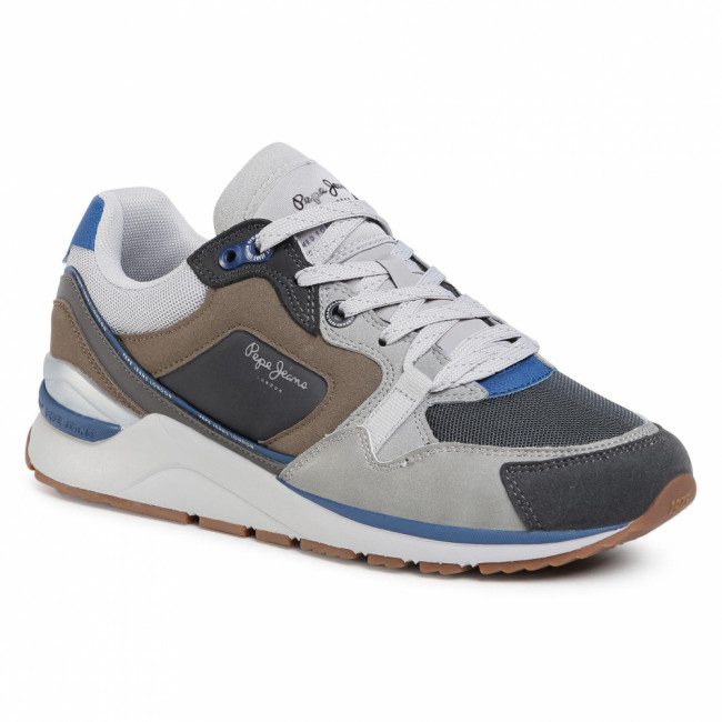 Sneakersy PEPE JEANS - X20 Runner PMS30660 Stag 884