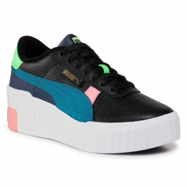 Sneakersy PUMA - Cali Wedge Sunset Bv Wn's 374317 02 Puma Black/Puma White