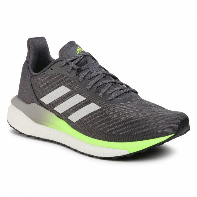 Topánky adidas - Solar Drive 19 M FW9610 Grey Five/Silver Metallic/Signal Green