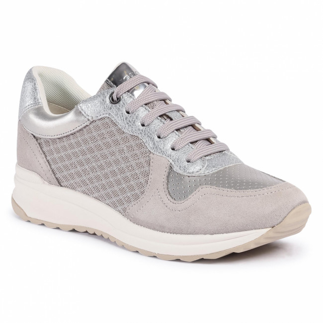 Sneakersy GEOX - D Airell A D022SA 0GN22 C1010 Lt Grey