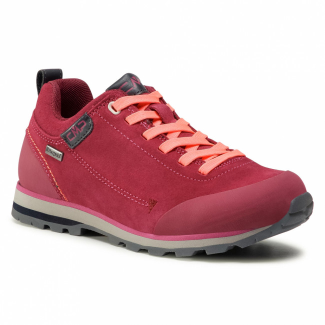 Trekingová obuv CMP - Elettra Low Wmn Hiking Shoe Wp 38Q4616 Goji/Red Fluo WWHF