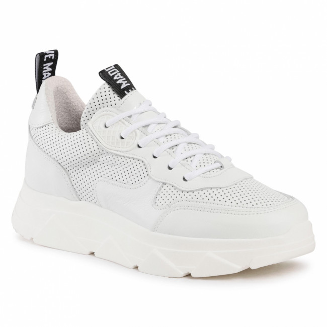 Sneakersy STEVE MADDEN - Pitty SM11001024-03001-107 White Leather