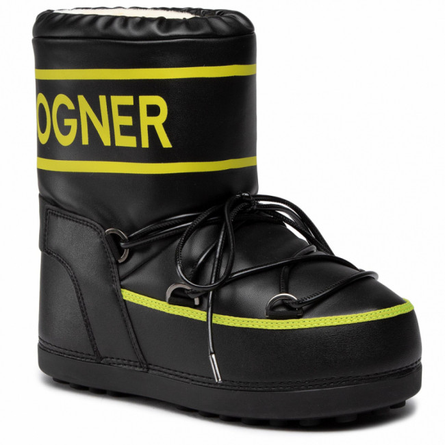 Snehule BOGNER - Trois Vallees 27 303-1594 Black/Lime 60