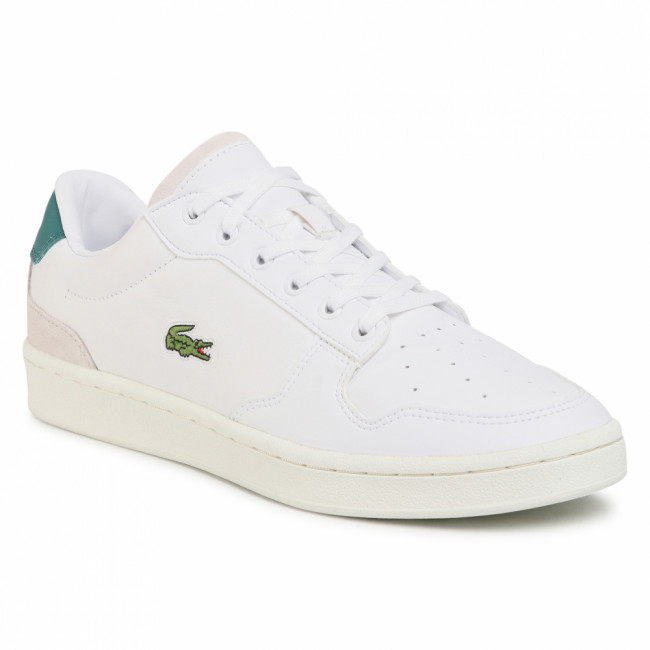 Sneakersy LACOSTE - Masters Cup 0120 1 Sma 7-40SMA00081R5 Wht/Dk Grn