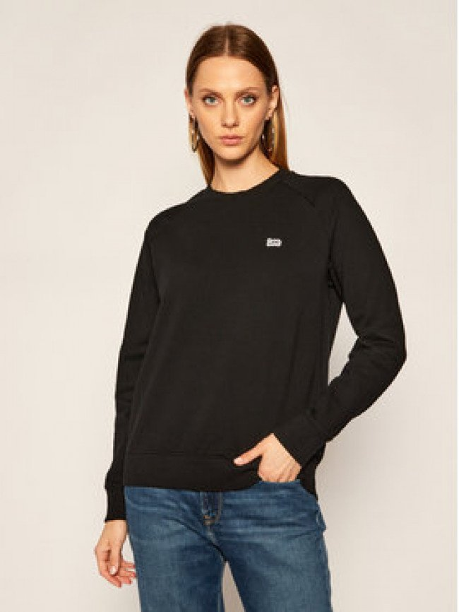 Lee Mikina Plain Crew Neck Sws L53RTX01 Čierna Regular Fit